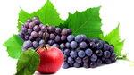 фон  с   яблоком   и  виноградом.jpg
