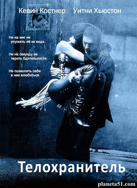 Телохранитель / The Bodyguard (1992/HDRip/BDRip)