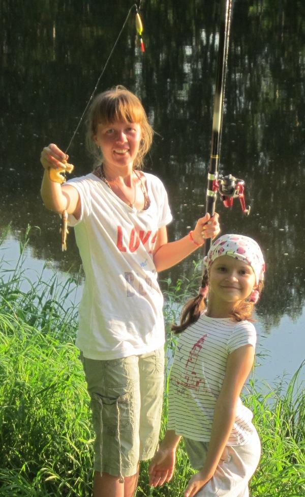 Рыбалка наЧусовой