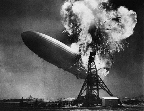 Дирижабль Hindenburg