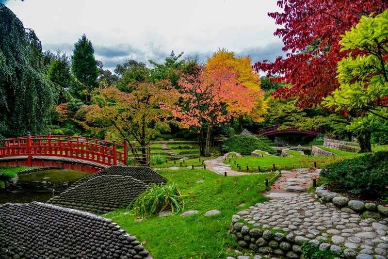 сад Альберт Кань (jardin Albert Kahn)