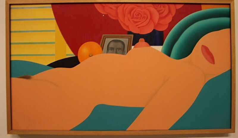 Tom Wesselmann, Nude No. 1 (Nude No. 1)1970. Oil on canvas, 63.5 x 114.5 cm.
