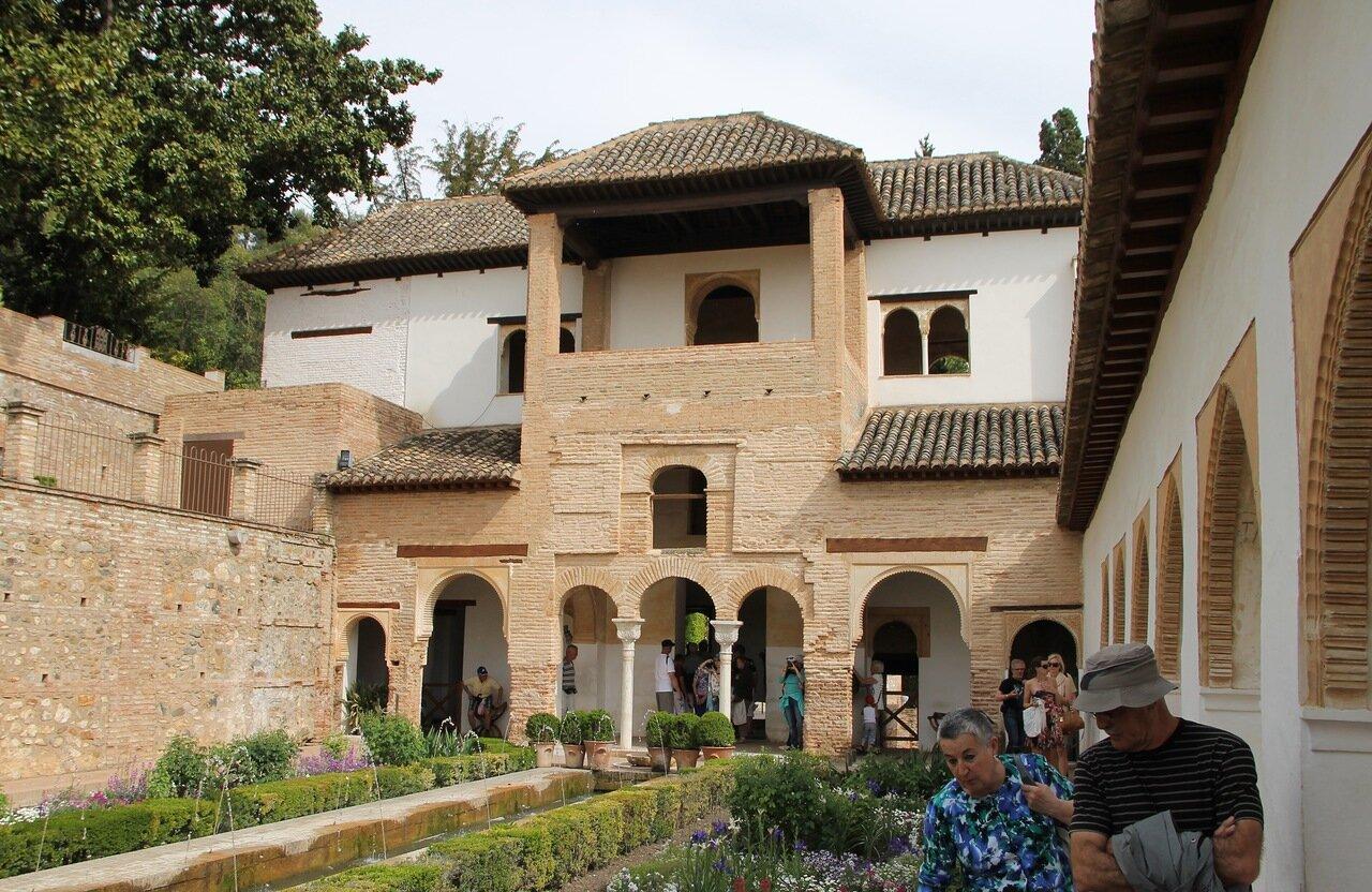 Гранада. Дворец Хенералифе (Palacio del Generalife)
