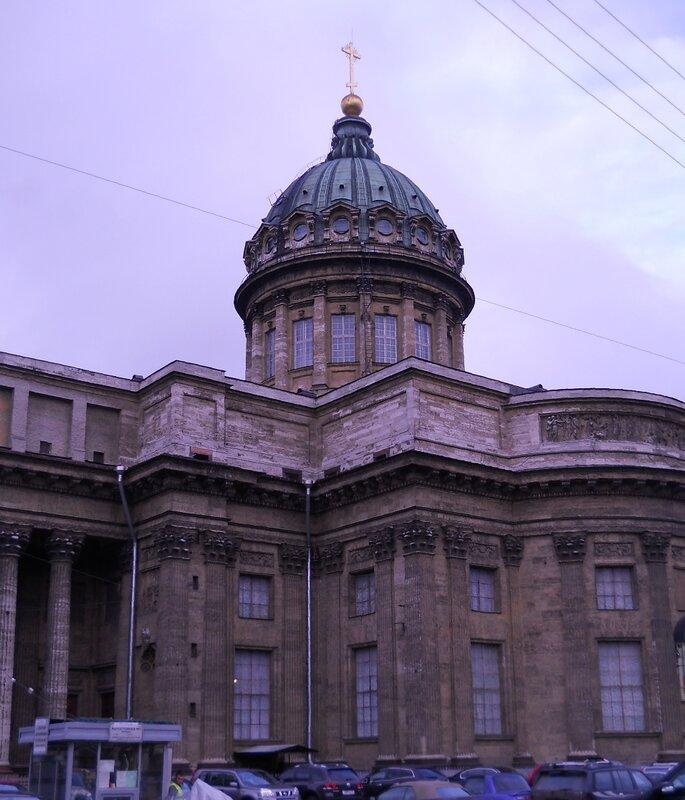 Казанский собор со стороны канала Грибоедова