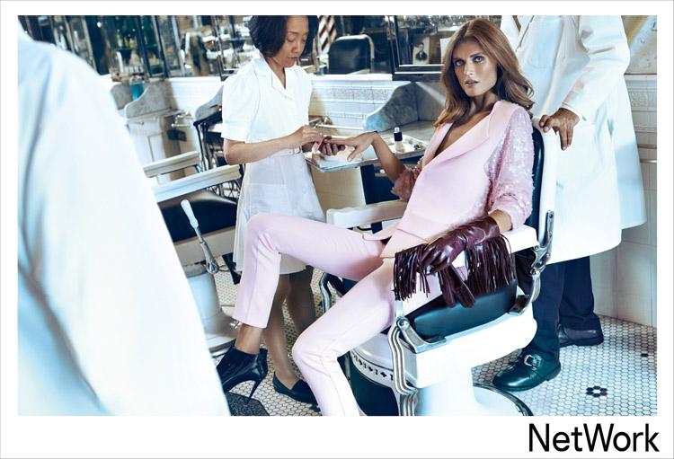 Малгосия Бела в рекламе Network