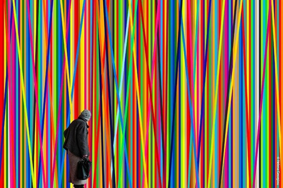 Красивые минималистические фотографии Хелены Георгиу