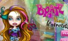Игра парикмахерская для девочек Братц +арты винкс