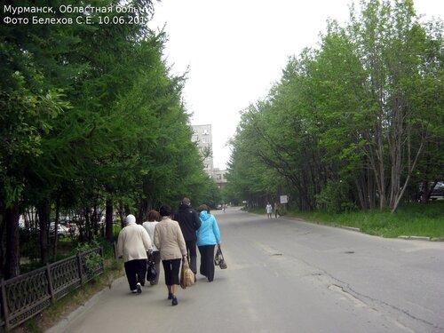 Мурманск, больница