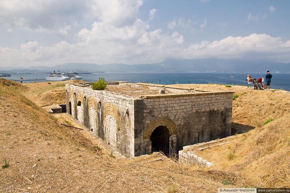 В Новой Крепости. Керкира, остров Корфу, Греция.