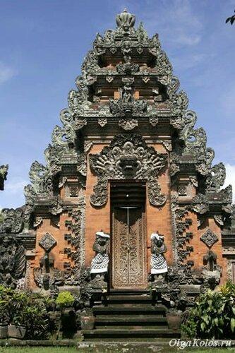 Индуистский храм на Бали