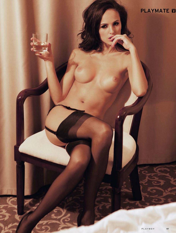Девушка месяца Ирина Бондаренко - Playboy Россия, июль 2013