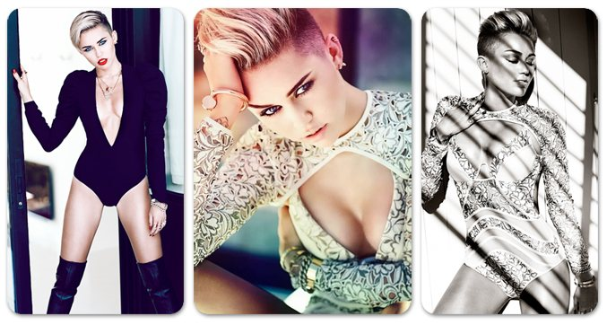 Майли Сайрус / Miley Cyrus by Chris Nicholls in Fashion Magazine november 2013