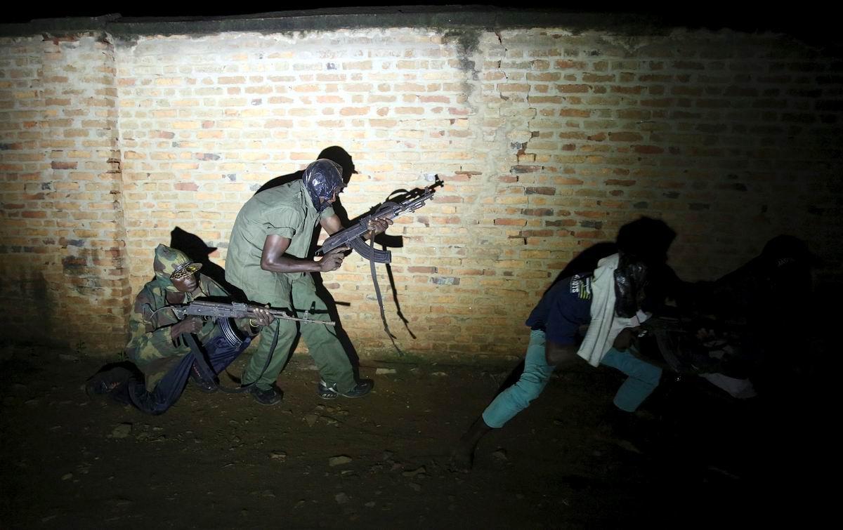Стражи африканского правопорядка: Ночной патруль в центре бурундийской столицы