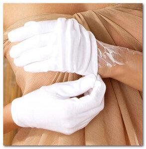 Перчатки для косметических процедур.