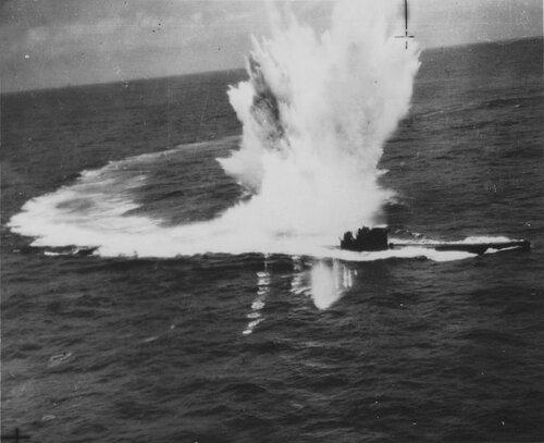 фото подбитых подводных лодок
