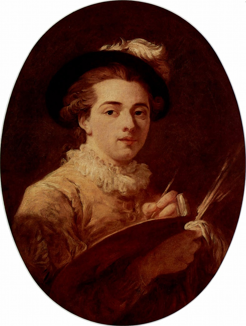 Автопортрет Jean Honoré Fragonard