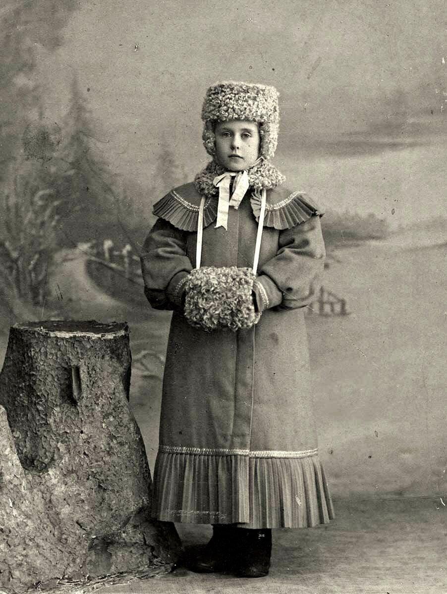 Фотопортрет девочки Евгении Коноваловой