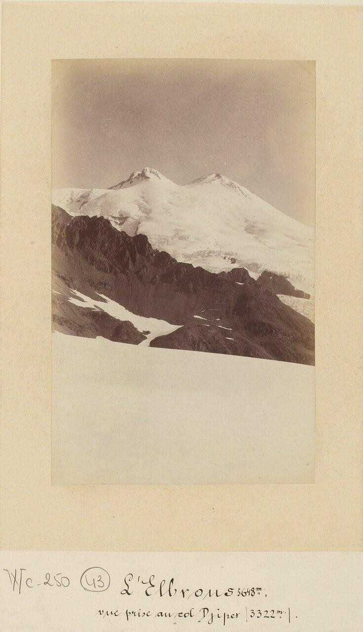 Эльбрус (5648 м.), перевал Джипер (3322 м.)