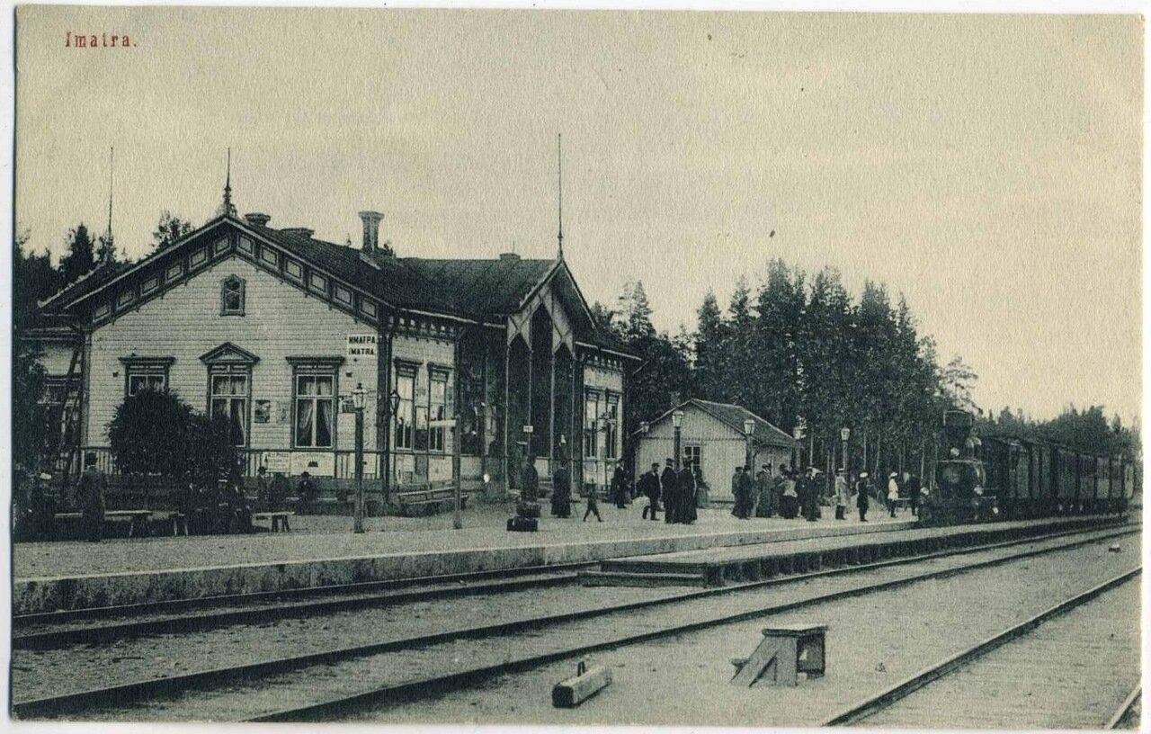 Железнодорожная станция Иматра