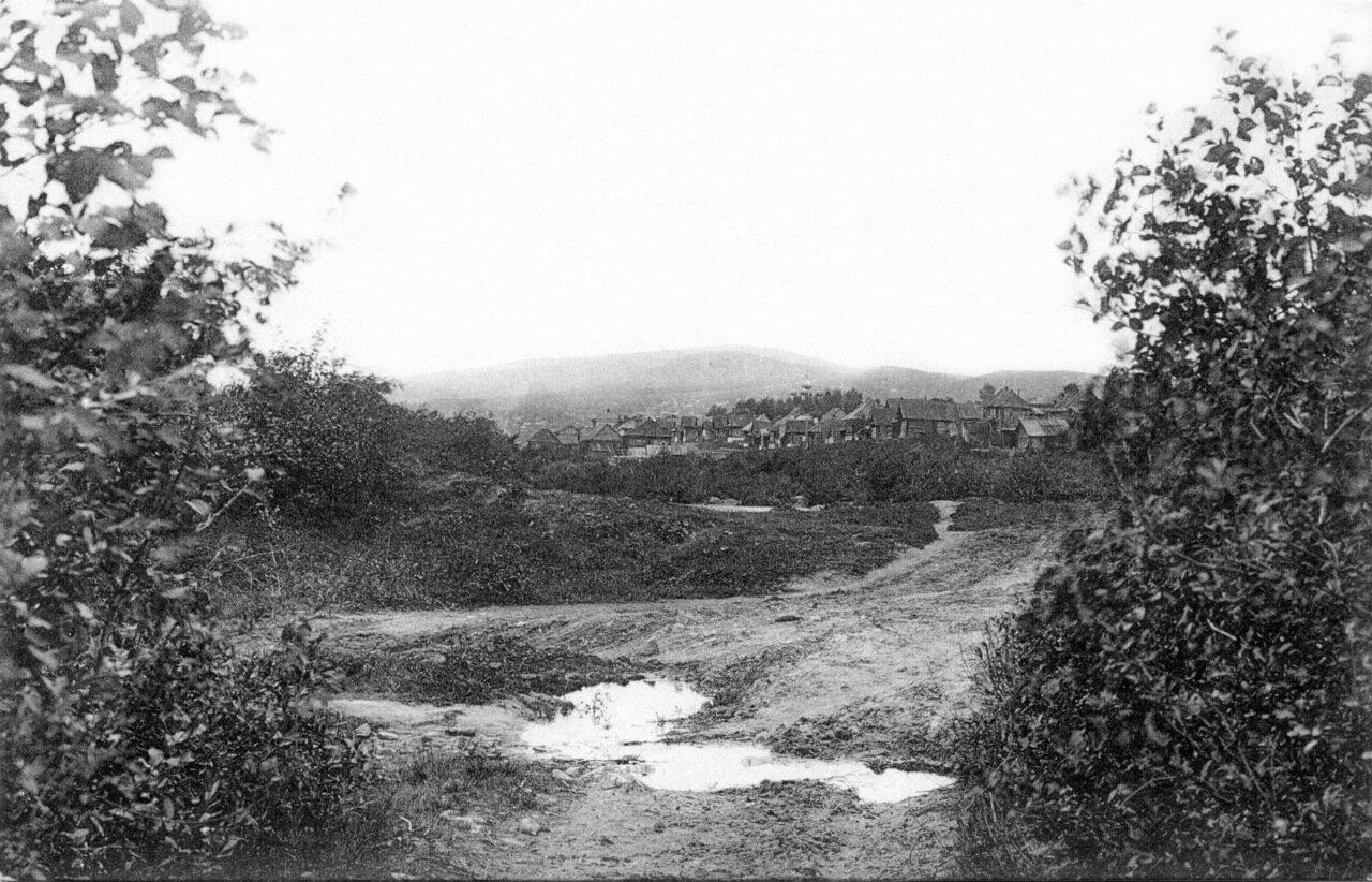 1913. Вид от р. Тесьма на Уреньгу.