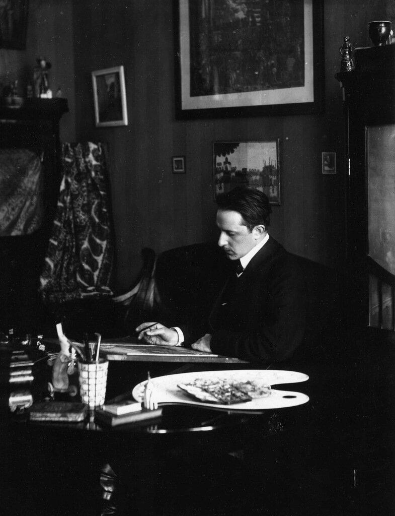 Мстислав Добужинский. 1900-е.