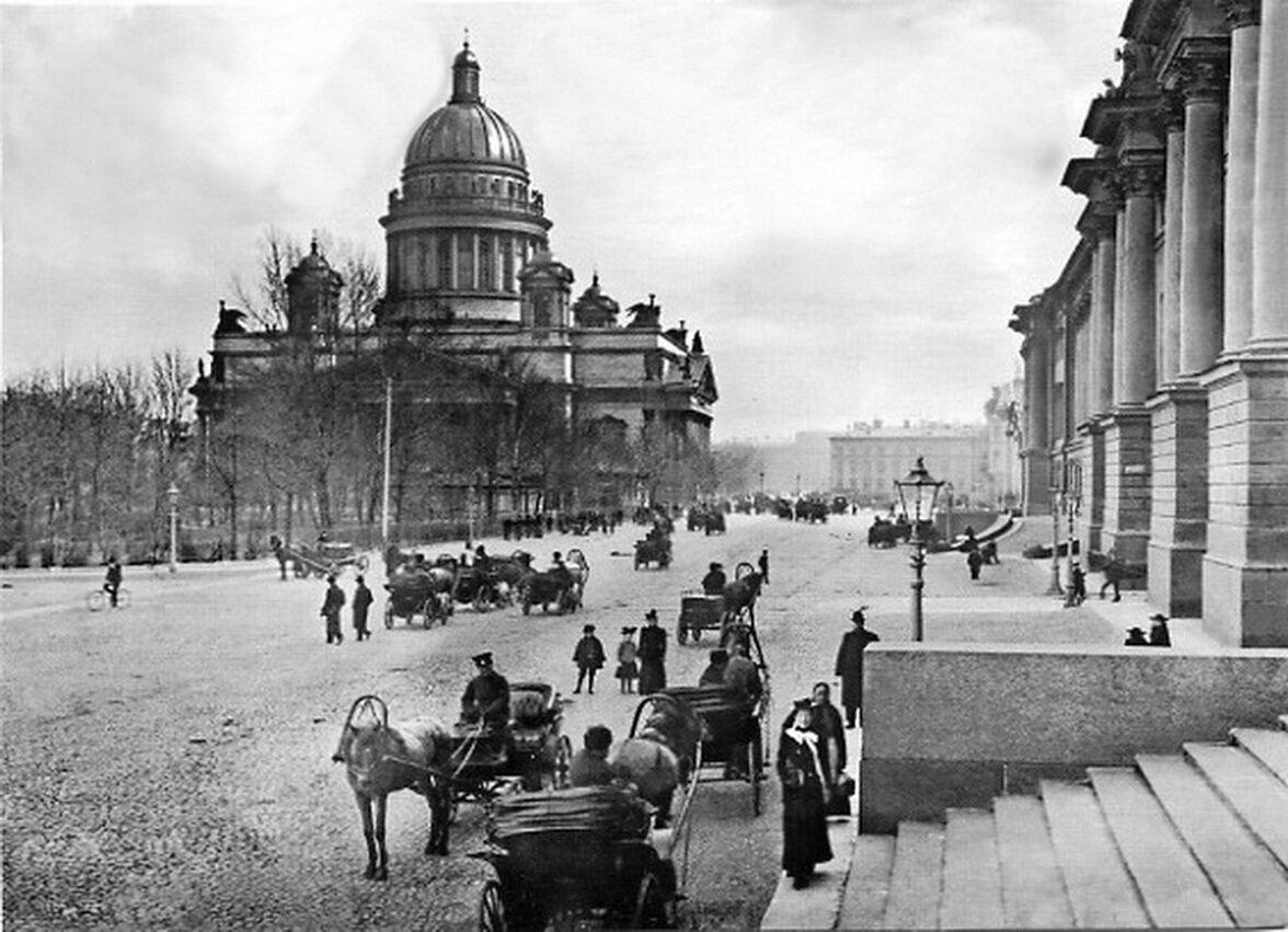 Исаакиевский собор. 1900-е г.