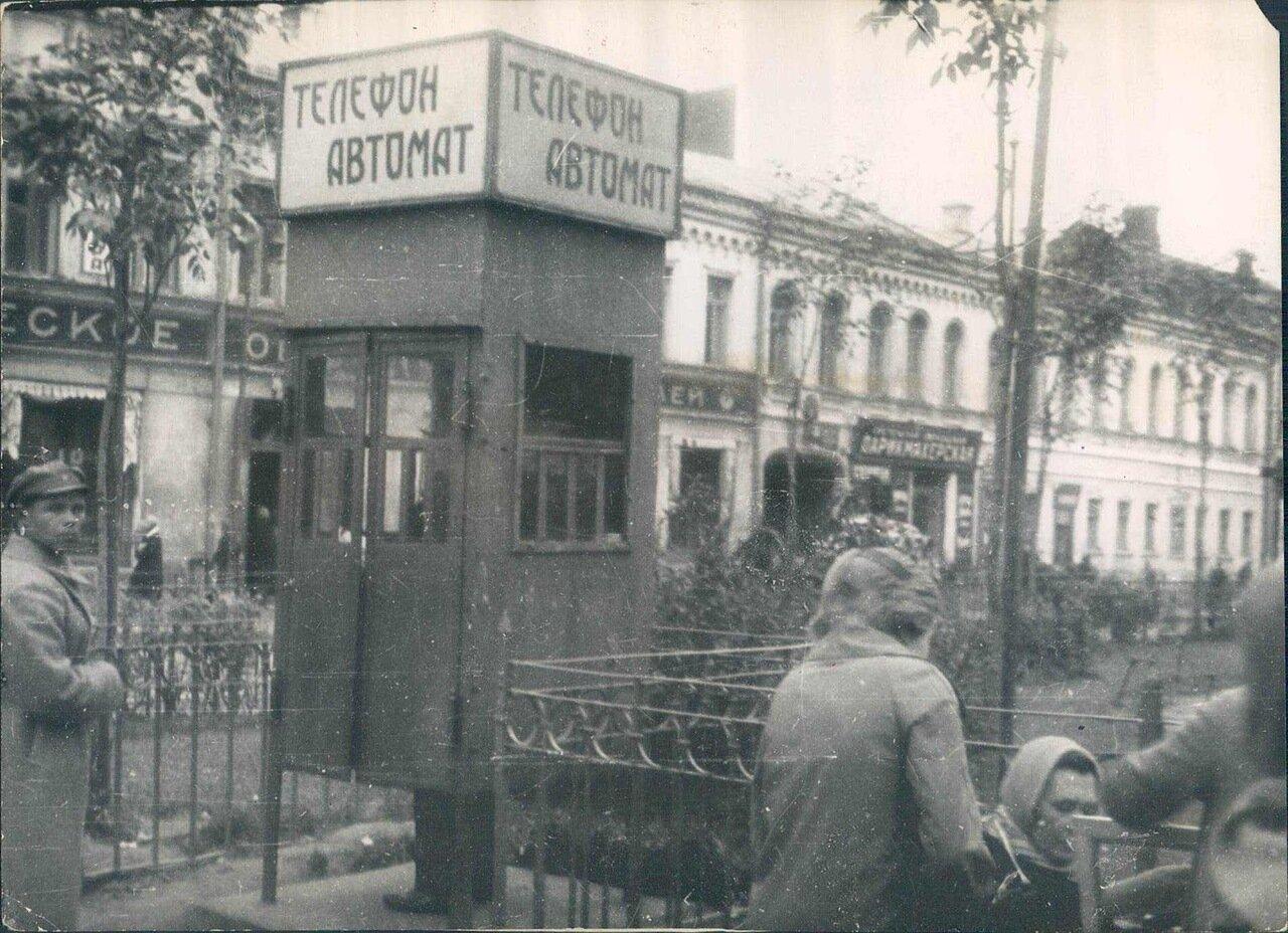 1929. Телефонные коробки в Ленинграде