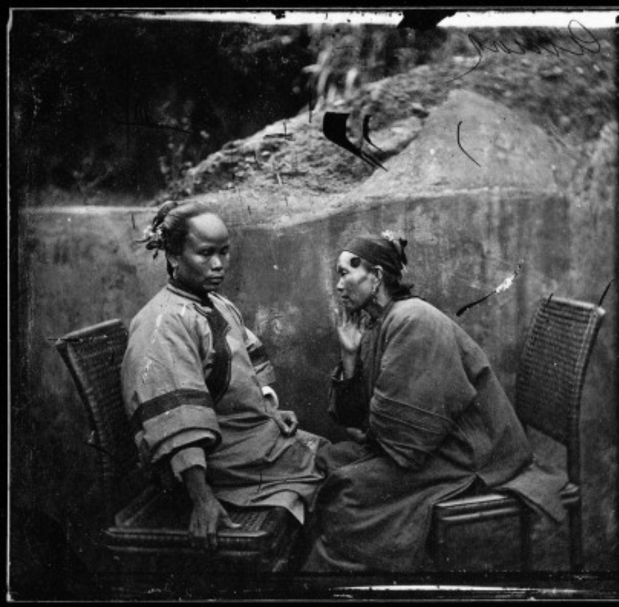 1871. Две женщины из Сямэнь, провинция Фуцзянь