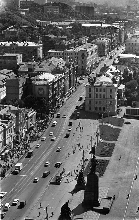 Владивосток начала 90-х годов