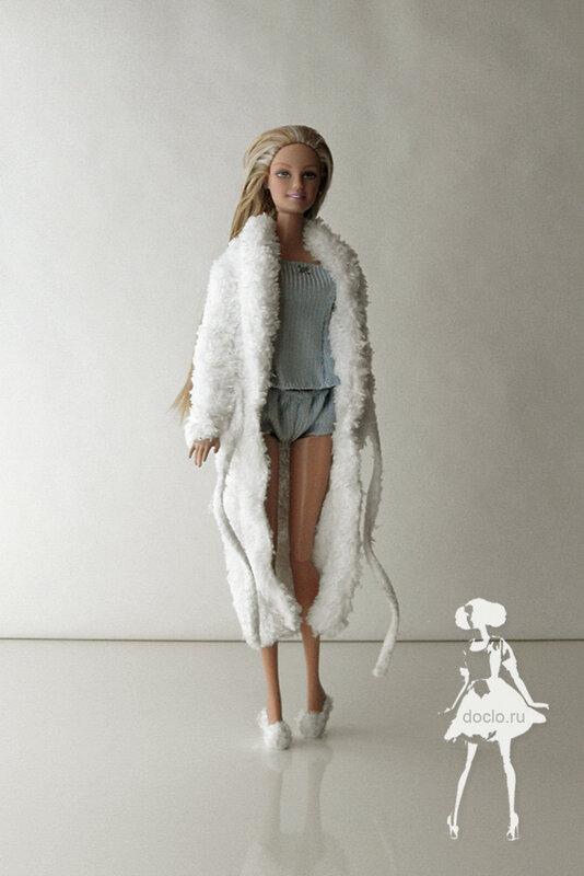 Пижама для куклы своими руками