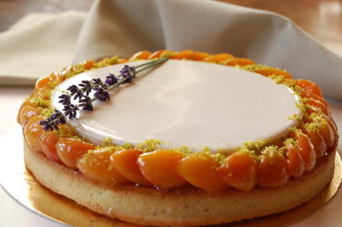 тарт фисташки абрикос лаванда
