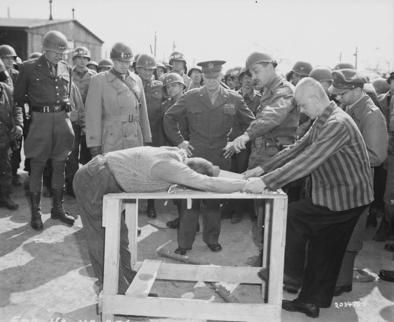 Нацистские сексуальные пытки