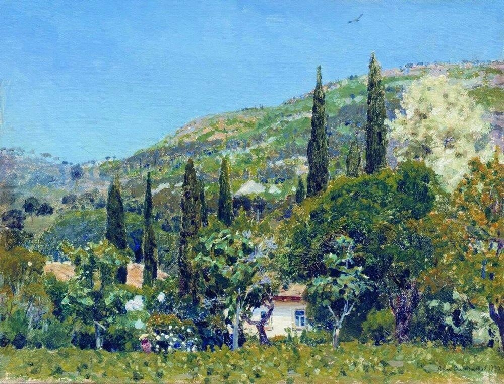 Крымский пейзаж. 1890.jpg