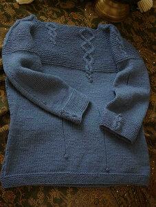 Ручьи и ручейки - великолепный пуловер Наши воплощения