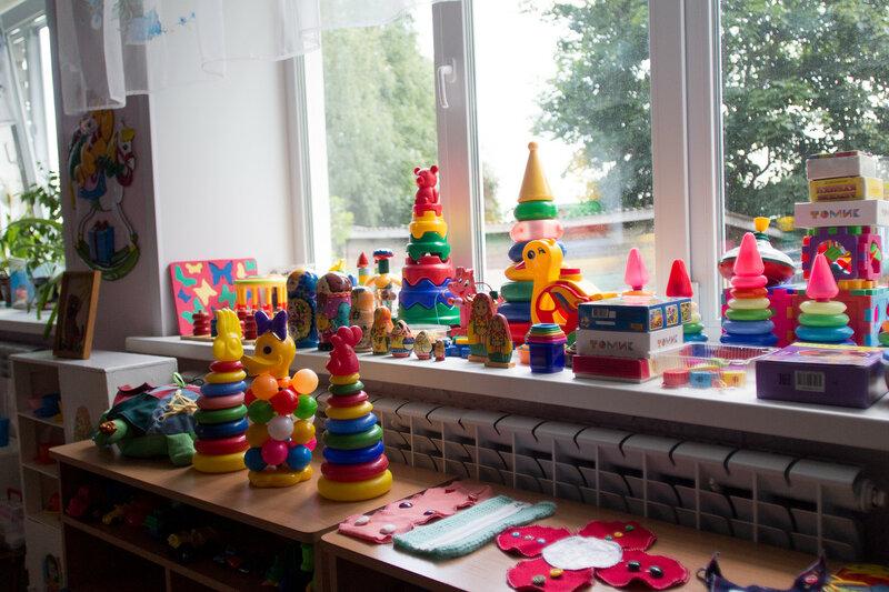 Детский сад №3 в Пено
