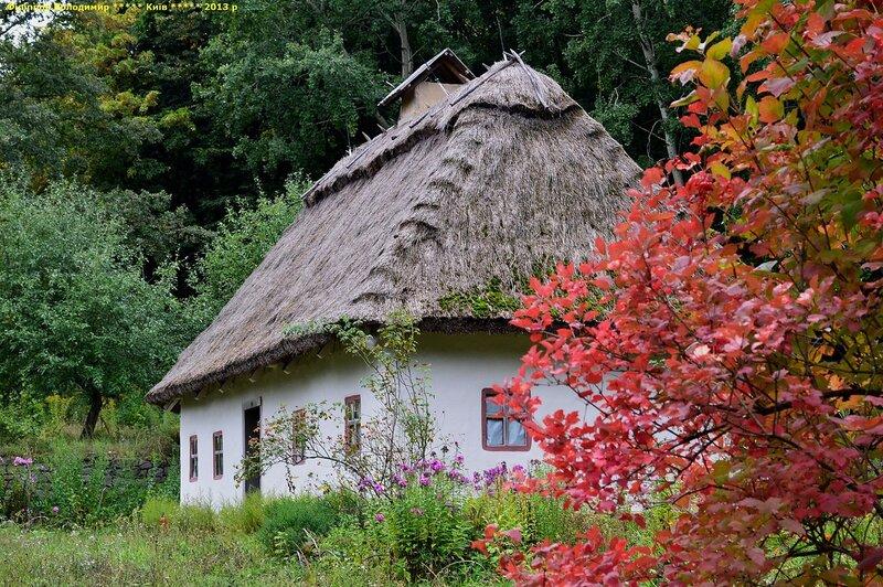 Музей народной архитектуры и быта Украины в Пирогово.