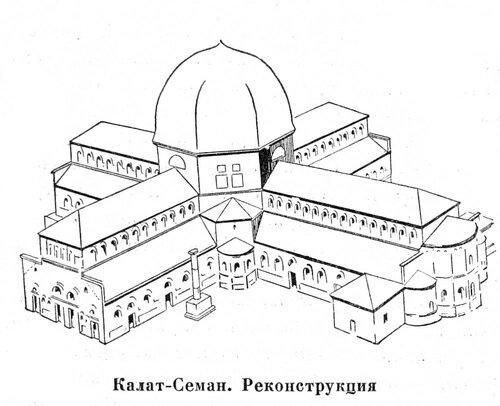 Калат-Семан, реконструкция