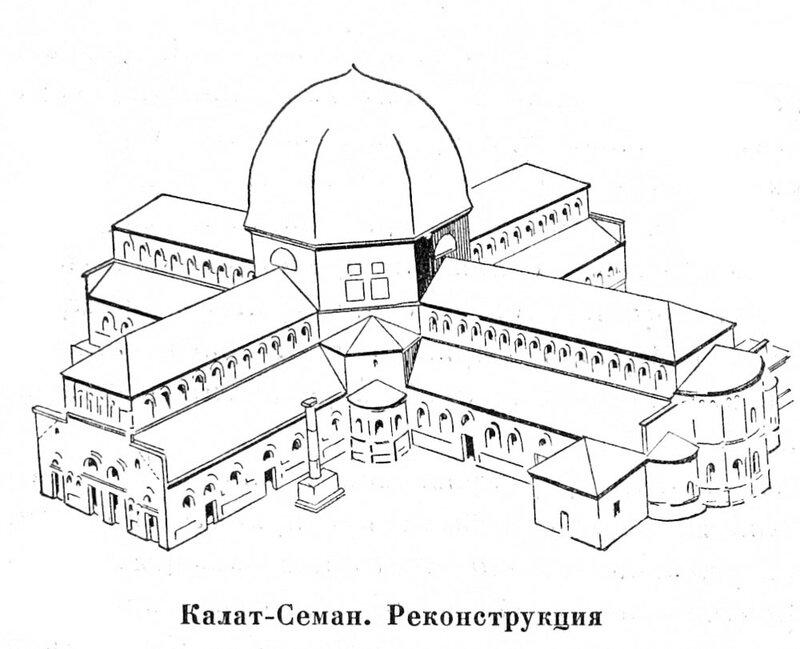 Калат-Семан (церковь Симеона
