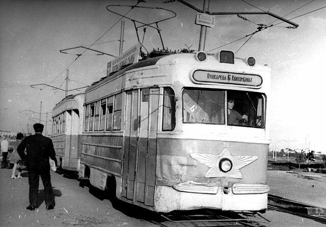 Ульяновск, трамвай КТМ-1 39.