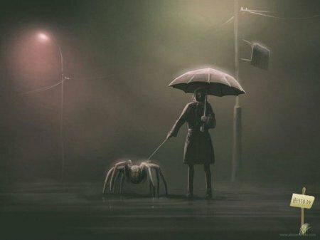 Аномальные миры в картинах Алекса Андреева