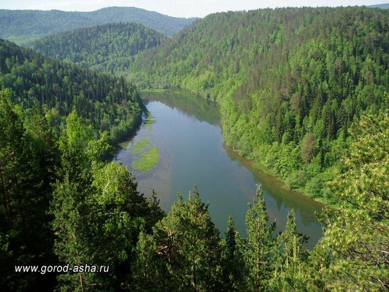 Река Сим (28.06.2013)