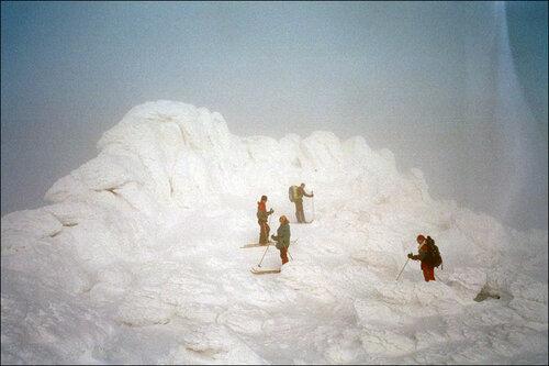 Группа навершине г.Малый Иремель