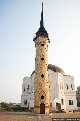 Строящаяся мечеть