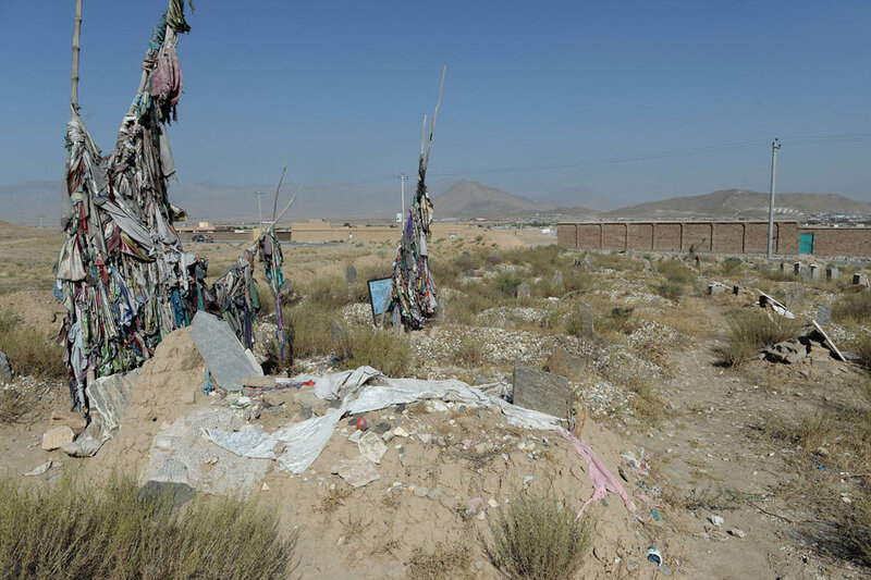 AFGHANISTAN-UNREST-CEMETERIES