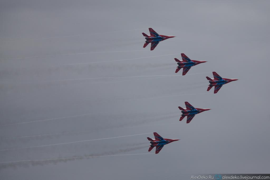 Полеты на МАКС 2013