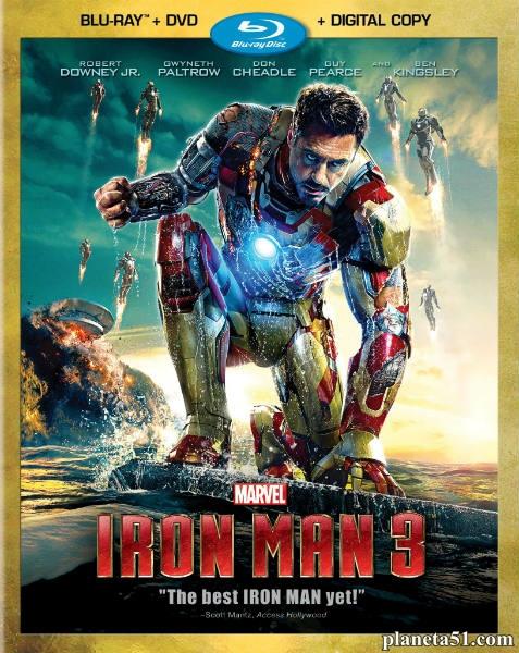 Железный человек 3 / Iron Man 3 (2013/BDRip/HDRip) + AVC