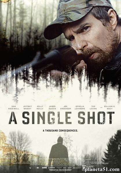 Единственный выстрел / A Single Shot (2013/WEB-DL/WEB-DLRip)