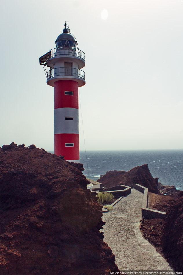 Путешествие по Тенерифе: День 3: Маяк на мысе Тено