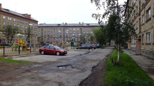 Фотография Инты №5354  Социалистическая 3а, Бабушкина 4 и Мира 9 30.07.2013_13:38