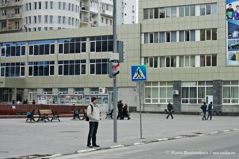 Светофор, Саратов, проспект Кирова, 04 октября 2013 года